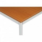 stoly do kanceláře 80 x 80 cm Biedrax JS4639SST - sv.šedá, třešeň