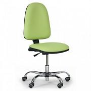 Dílenská židle Torino Biedrax Z9812Z - chromovaný kříž