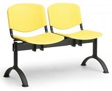 Plastová lavice do čekáren ISO Biedrax LC9680ZL - podnož černá