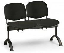 Čalouněná lavice do čekáren Viva Biedrax LC9368C - podnož černá