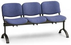 Čalouněná lavice do čekáren Viva Biedrax LC9370M - podnož černá