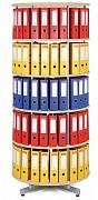 regál otočný archivační - 5 pater, bříza Biedrax AS4665