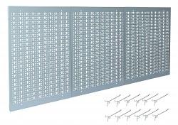 nástěnný panel do dílny na nářadí, děrovaný - Biedrax NP5808-3