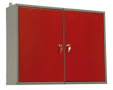 skříňka do dílny na nářadí, kovová, dílenská, dvoudílná - Biedrax KS5809