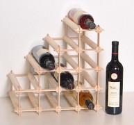 dřevěný stojan na víno pro 10 láhví - SV10