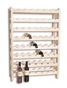 dřevěný stojan na víno pro 56 láhví - SV56