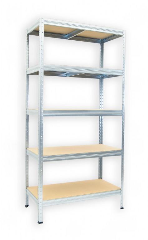 kovov reg l biedrax 35 x 90 x 180 cm 5 polic x 175kg pozinkovan esk reg. Black Bedroom Furniture Sets. Home Design Ideas