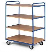 policový vozík Biedrax PV4092 - 100x70cm