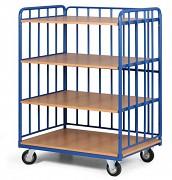 policový vozík Biedrax PV4130 - 100x70cm