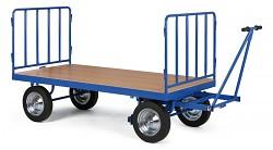 velký plošinový vozík Biedrax PV820 - kovové čelo