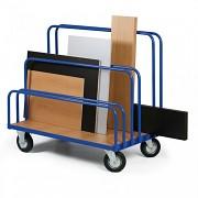 vozík na deskový materiál, tabule Biedrax VDM1510