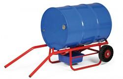 dvoupolohový vozík na sudy, bečky Biedrax VS1530