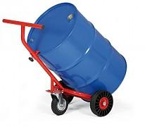 vozík na sudy, bečky s opěrným kolem Biedrax VS1532