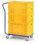 plošinový vozík lehký Biedrax PV1503 - 90x58cm