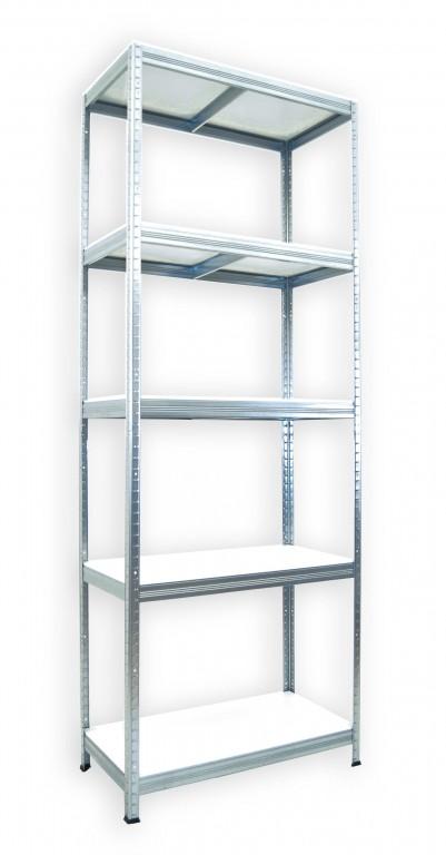 kovov reg l biedrax 60 x 90 x 210 cm 5 polic x 175 kg pozinkovan b l police lamino. Black Bedroom Furniture Sets. Home Design Ideas