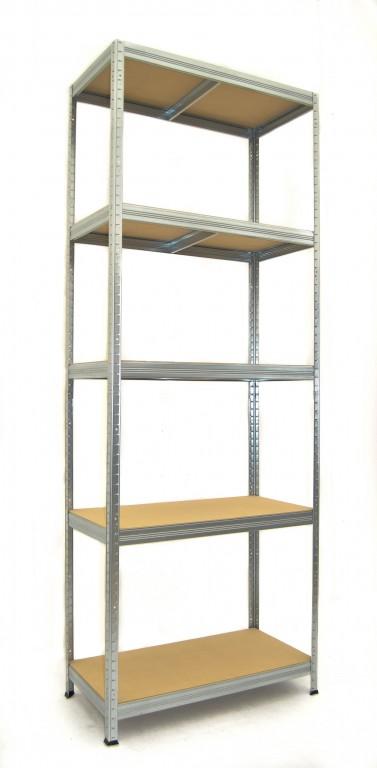 kovov reg l biedrax 50 x 90 x 270 cm 5 polic x 175kg. Black Bedroom Furniture Sets. Home Design Ideas