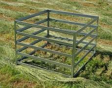 Kompostér kovový Biedrax - KK60Z zinkovaný