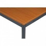 stoly do kanceláře 80 x 160 cm Biedrax JS4651TST - tm.šedá, třešeň