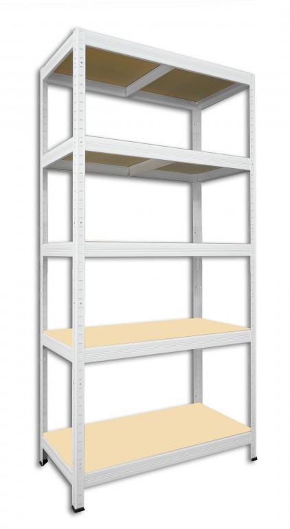 kovov reg l biedrax 35 x 60 x 180 cm 5 polic x 175kg b l esk reg. Black Bedroom Furniture Sets. Home Design Ideas
