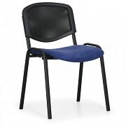 Konferenční čalouněná židle, modrá Biedrax Z9850M