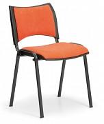 Konferenční čalouněná židle, oranžová Biedrax Z9094O