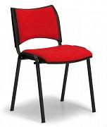 Konferenční čalouněná židle, červená Biedrax Z9094CV