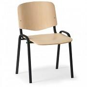 Konferenční dřevěná židle ISO, Biedrax Z9532