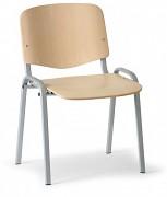 Konferenční dřevěná židle ISO, Biedrax Z9533