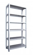 Nerezový regál Biedrax 40 x 56 x 160 cm, 6 polic x 100 kg