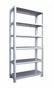 Nerezový regál Biedrax 40 x 96 x 160 cm, 6 polic x 100 kg