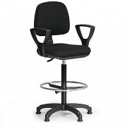 Kancelářská židle Milano Biedrax Z9609C s opěrným kruhem a područkami