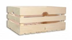 dřevěná bedna 46 x 32 x 21 cm - Biedrax