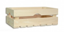 dřevěná bedna 34 x 20 x 12 cm - Biedrax