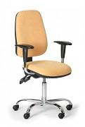 Kancelářská židle Alex Biedrax Z9660ZL s područkami a chromovaným křížem