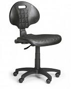Pracovní židle PUR Biedrax Z9764M - s měkkými koly pro tvrdé podlahy