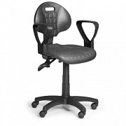 Pracovní židle PUR Biedrax Z9819 - s područkami