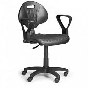 Pracovní židle PUR Biedrax Z9817 - s područkami