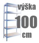 REGÁLY VÝŠKA 100 CM