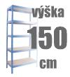 REGÁLY VÝŠKA 150 CM