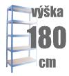 REGÁLY VÝŠKA 180 CM